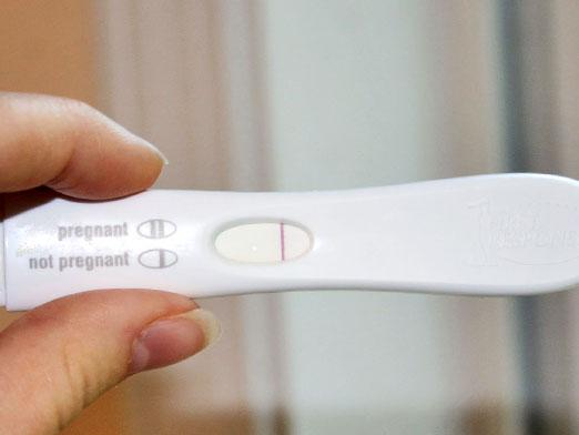 I am pregnant and the test is negative ...