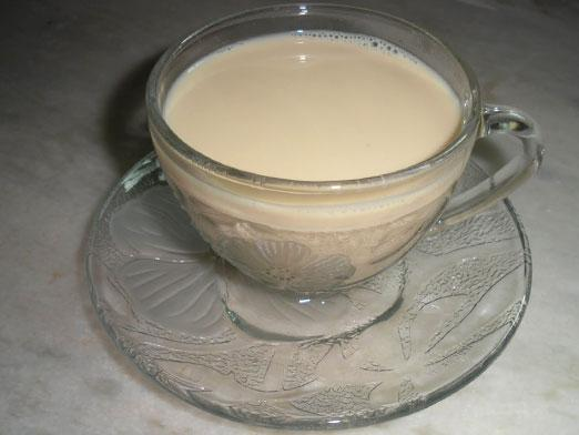 Can I drink tea with milk?