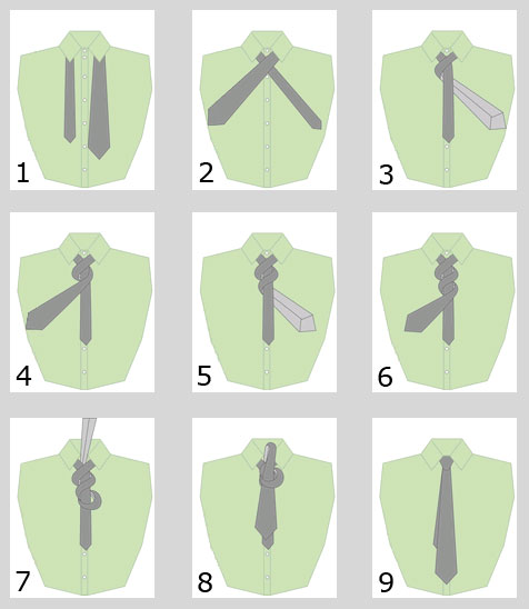How to tie a tie: Victoria knot