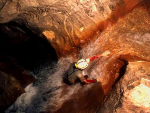 What does a caver do?