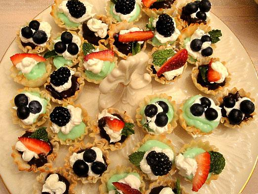 How to fill tartlets?