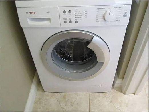 How to open a washing machine?