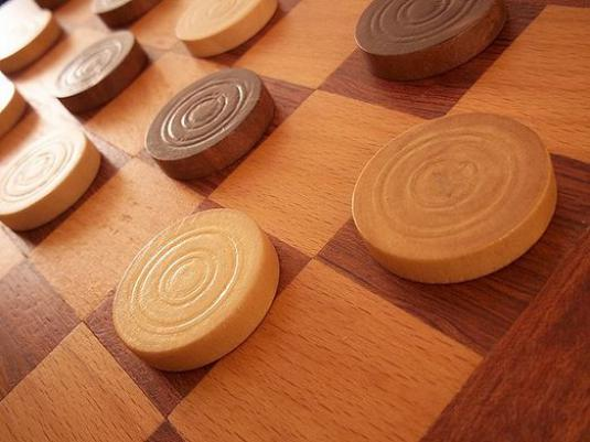 How to win checkers?