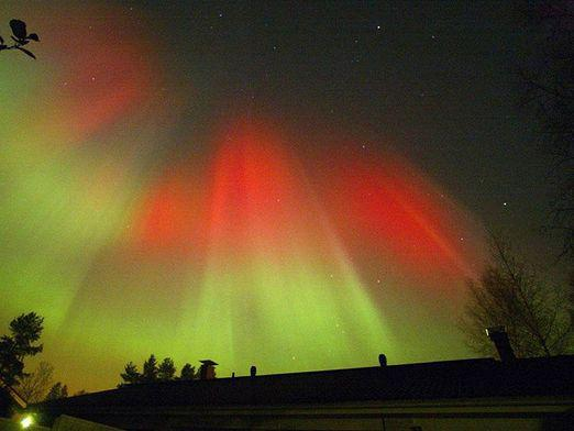 What is the northern lights?