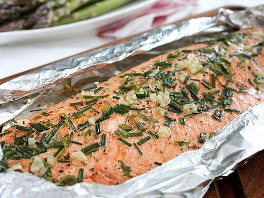 How to cook in foil?