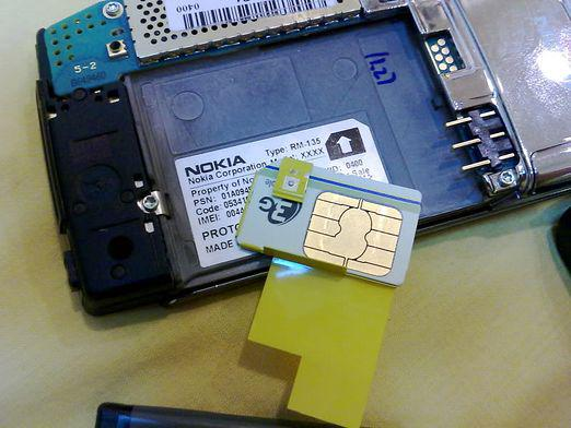 How to insert a sim card?