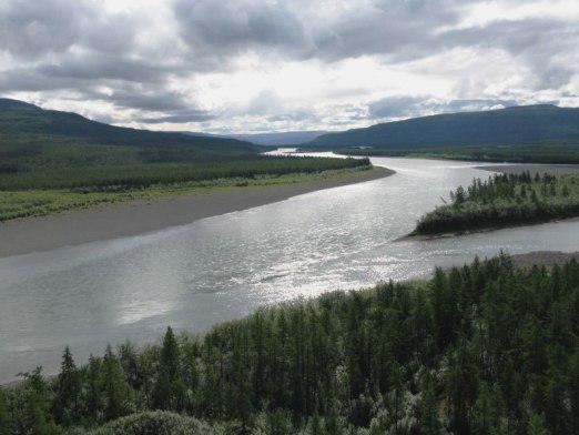 Why do rivers flow?