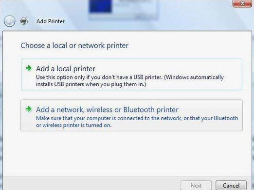 How to connect the printer via Wi-Fi?
