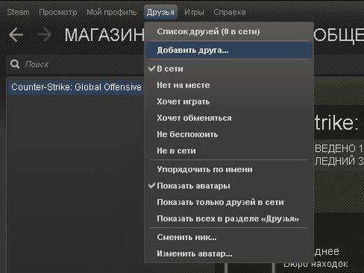 How to add a friend to Steam?