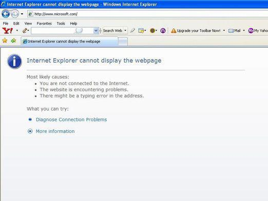Why does the internet crash?