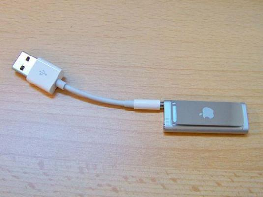 How to charge an iPod?