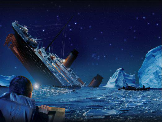 How many died on the Titanic?