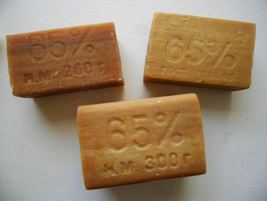 What make soap?