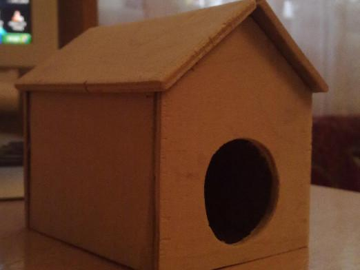 How to make a house for a hamster?