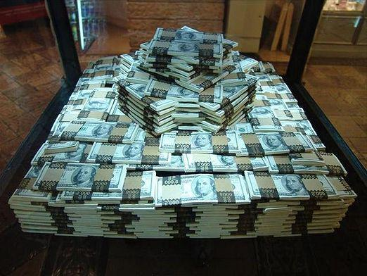 How much does a million dollars weigh?