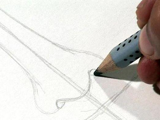 How to draw a nose?