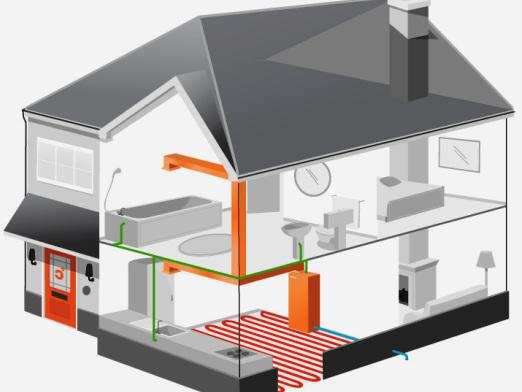 What is a heating system?