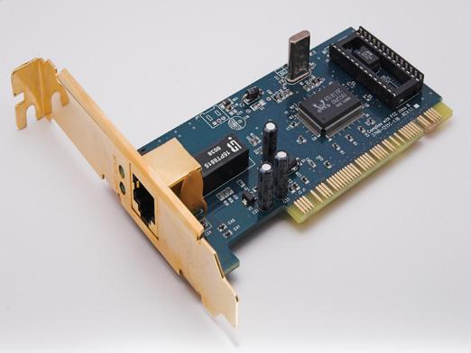 What is a network card?