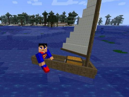 How to make a boat in Minecraft?