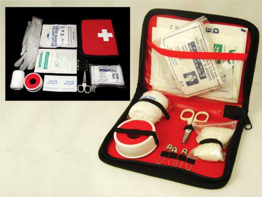 The composition of the first aid kit