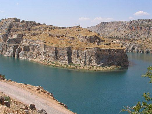 Why was the Euphrates called the inverted river?