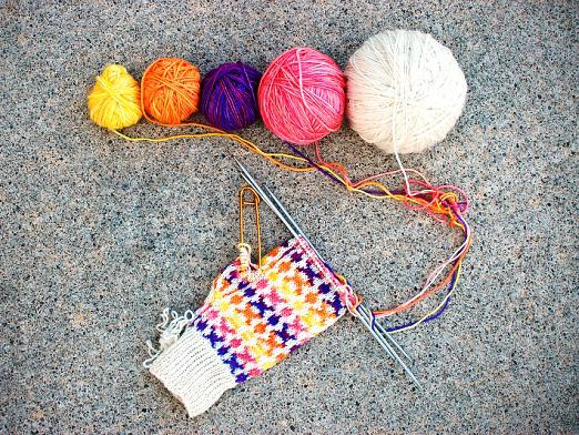 How to finish a mitten?