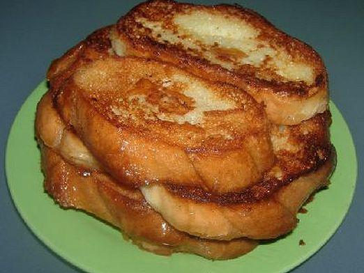 How to fry bread?