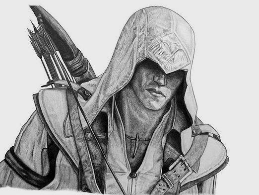 How to draw an assassin?