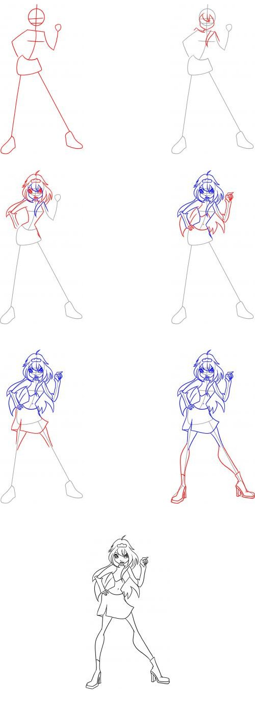 How to draw bloom