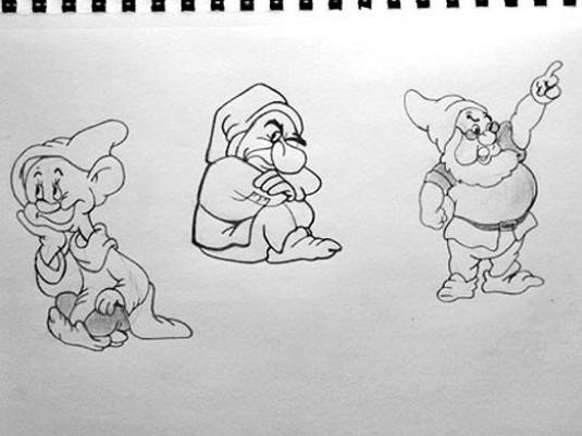 How to draw a gnome?