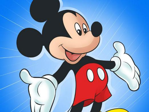 How to draw Mickey?