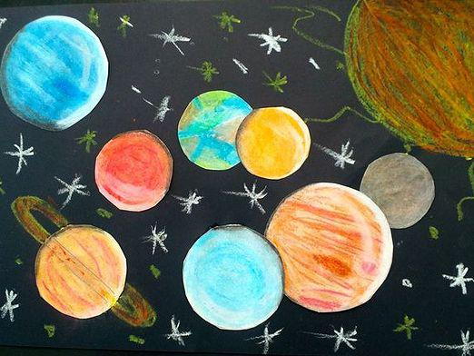 How to draw a planet?
