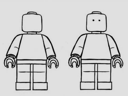 How to draw lego?