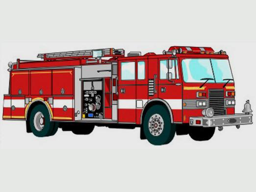 How to draw a fire truck?