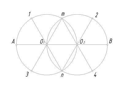 How to draw an oval: Step 3
