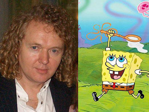 Who is voiced by SpongeBob?
