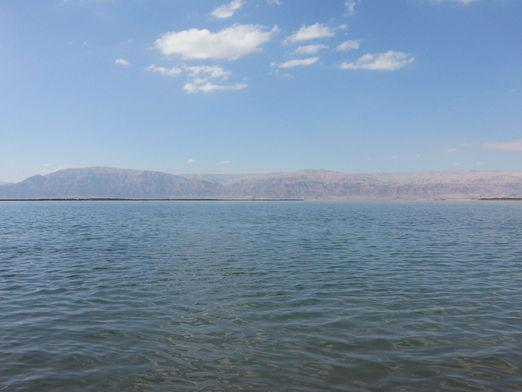 Where is the dead sea?