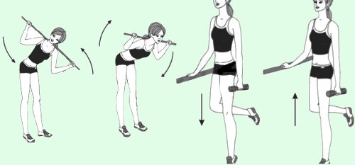 Exercises to fight cellulite
