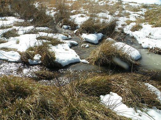 Why does the snow melt?