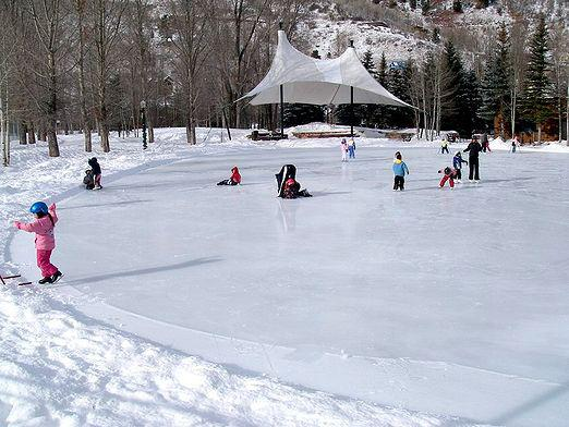 How to fill the rink?