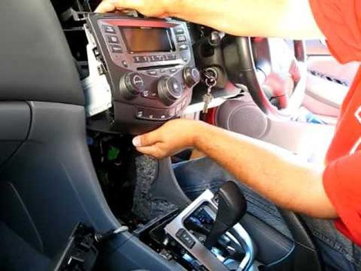 How to pull the radio?
