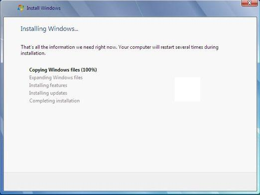 How to install Windows 7 64 bit?