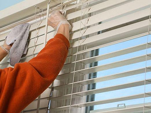 How to wash the blinds?