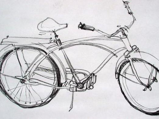 How to draw a bicycle?