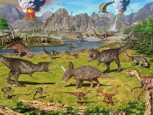 How did the dinosaurs come about?