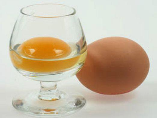 How to drink eggs?