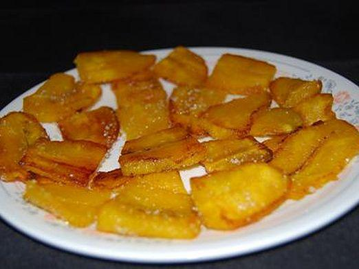 How to fry bananas?