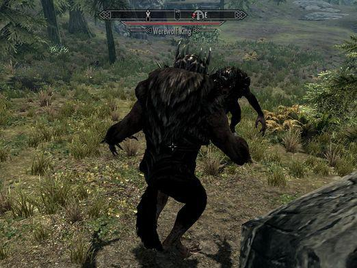 How to become a werewolf in Skyrim?