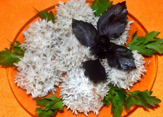 How to cook hedgehogs with rice?