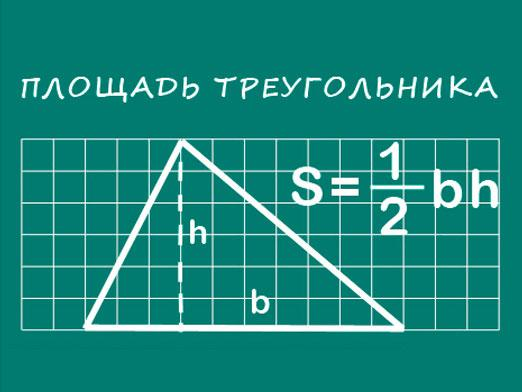 How to find the area of a triangle?